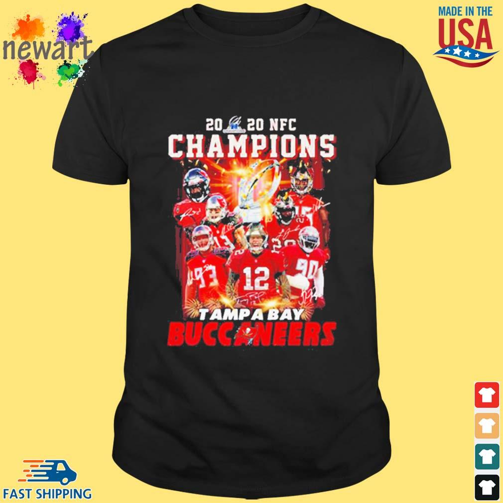 2020 Nfc Champions Tampa Bay Buccaneers Shirt