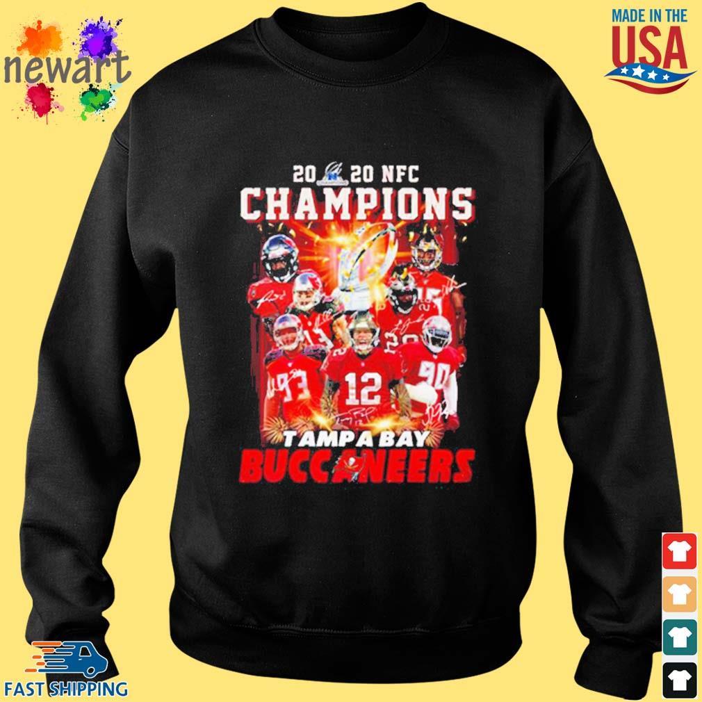 2020 Nfc Champions Tampa Bay Buccaneers Shirt Sweater den