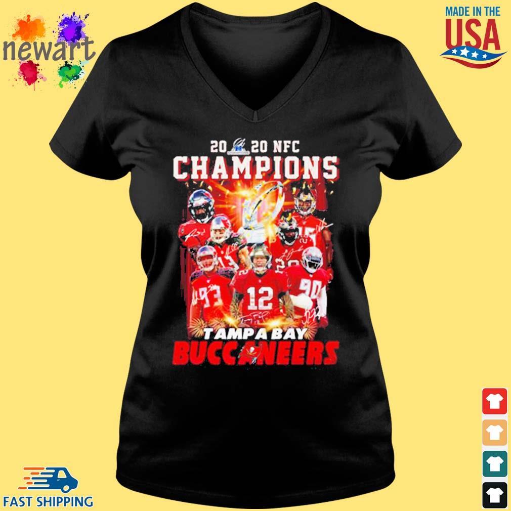 2020 Nfc Champions Tampa Bay Buccaneers Shirt Vneck den
