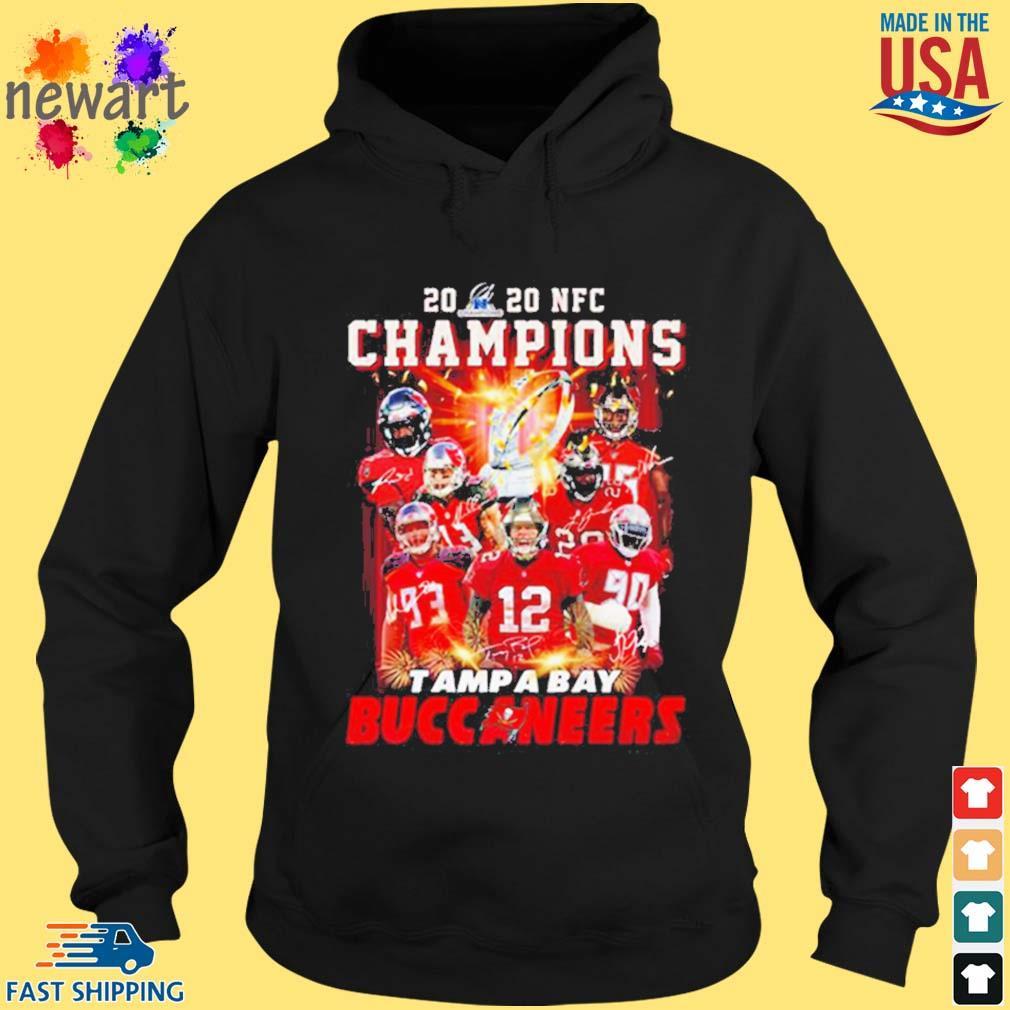 2020 Nfc Champions Tampa Bay Buccaneers Shirt hoodie den