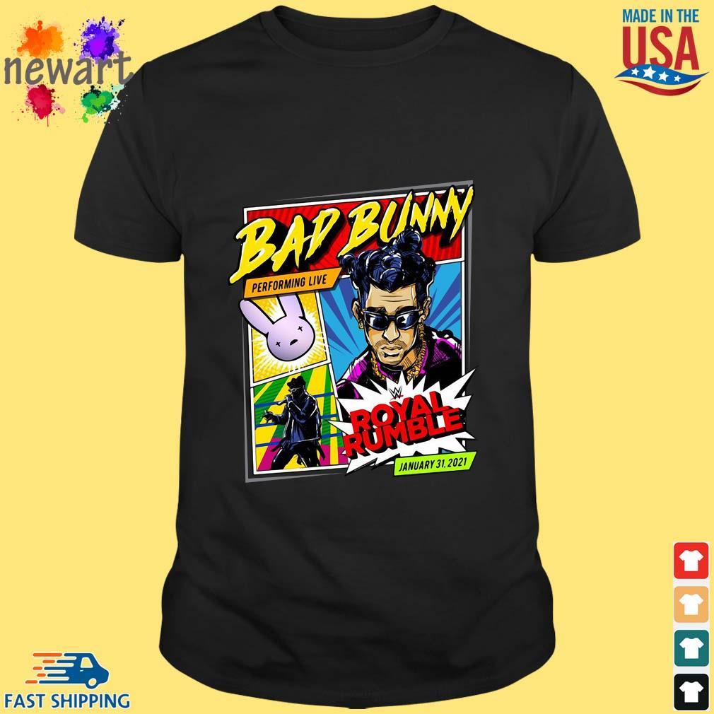 Bad Bunny X Royal Rumble 2021 Special Edition Shirt