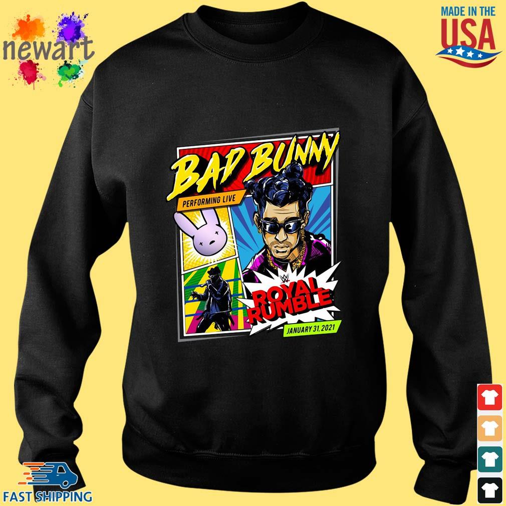 Bad Bunny X Royal Rumble 2021 Special Edition Shirt Sweater den