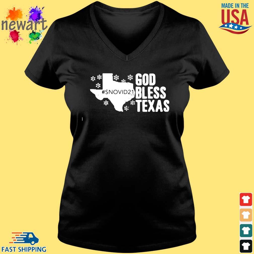 #Snovid21 god bless Texas s Vneck den