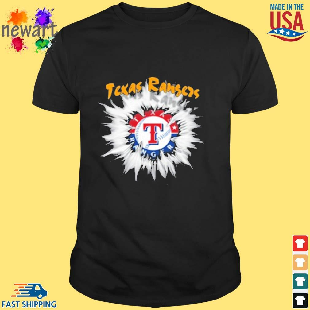 Texas Rangers MLB Baseball Adoring Fan Rip Sports shirt