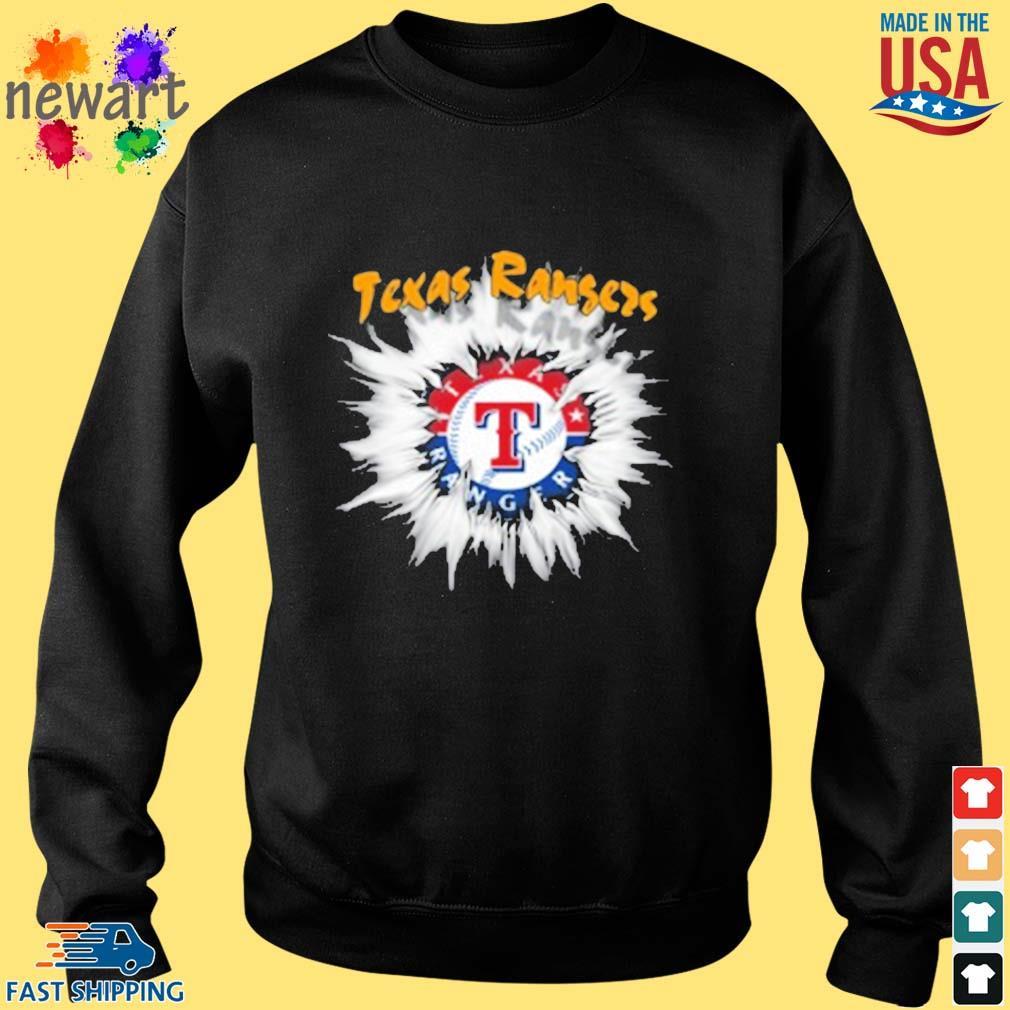 Texas Rangers MLB Baseball Adoring Fan Rip Sports s Sweater den