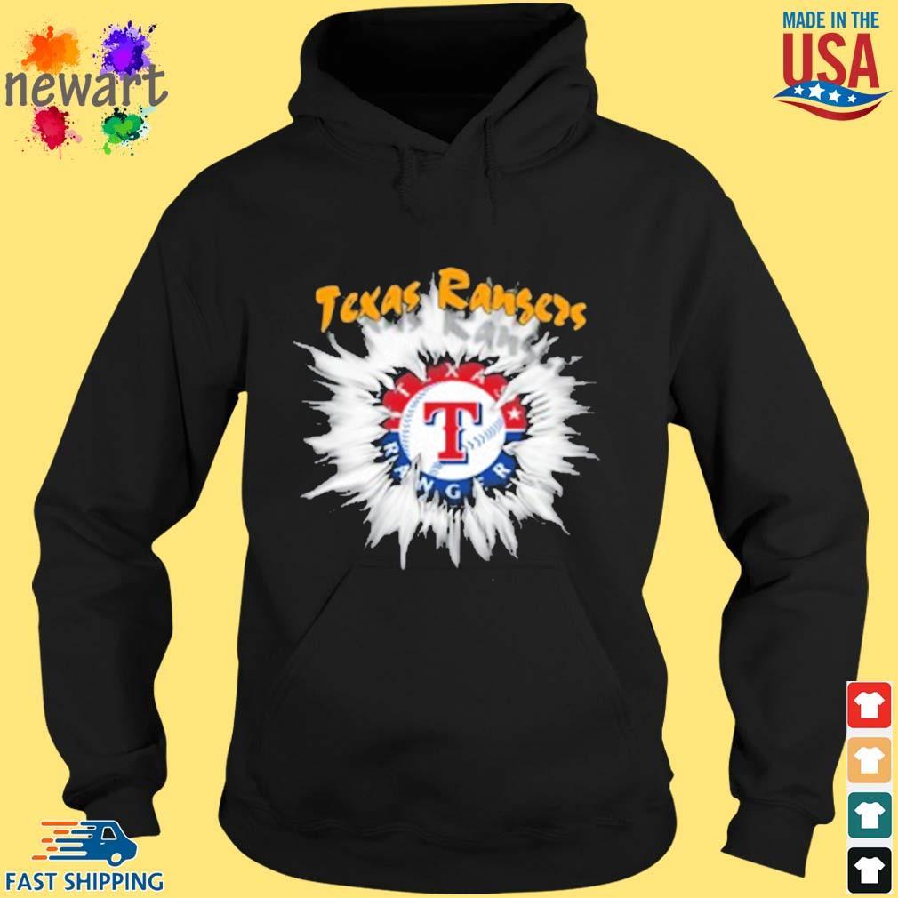 Texas Rangers MLB Baseball Adoring Fan Rip Sports s hoodie den