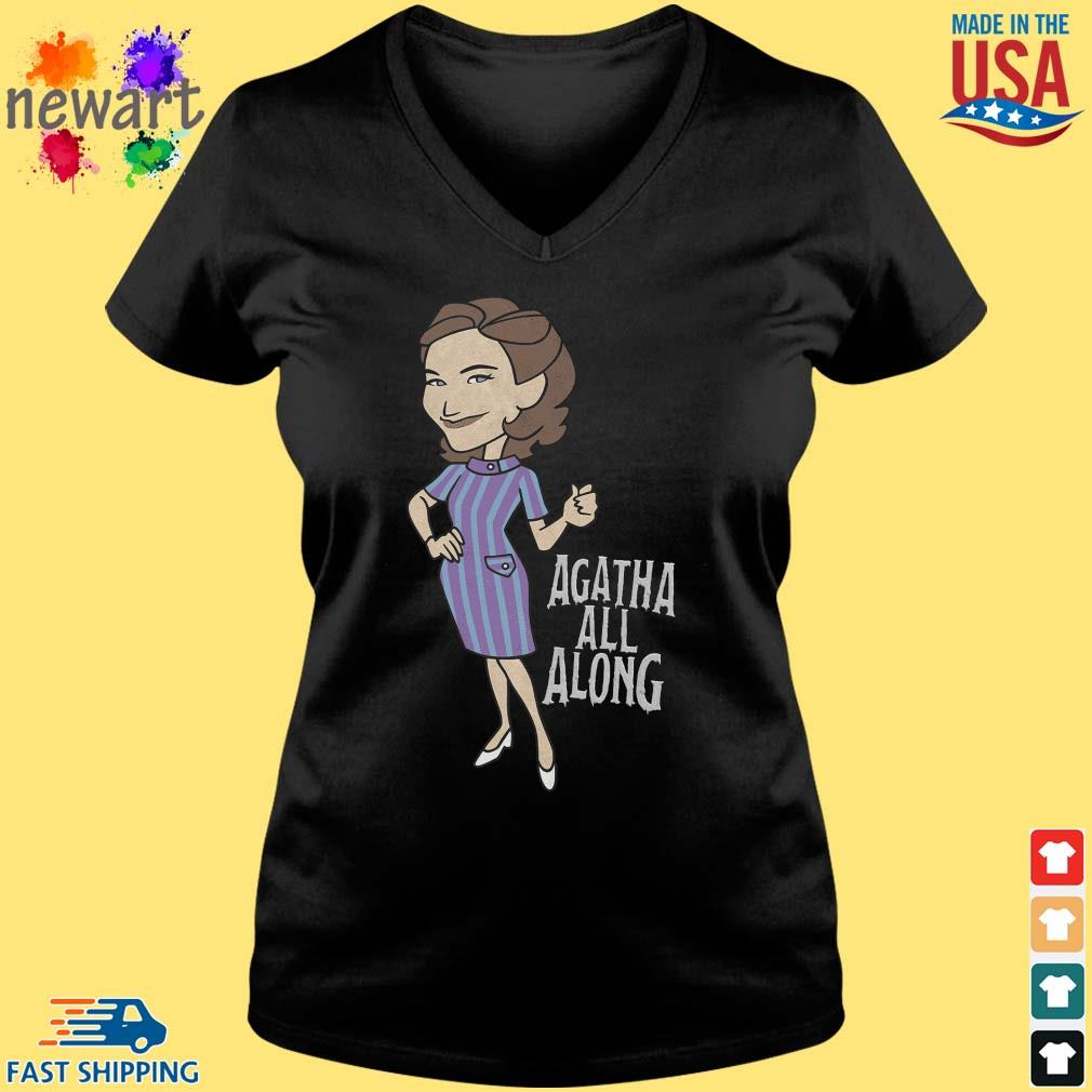 2021 Agatha All Along Shirt Vneck den