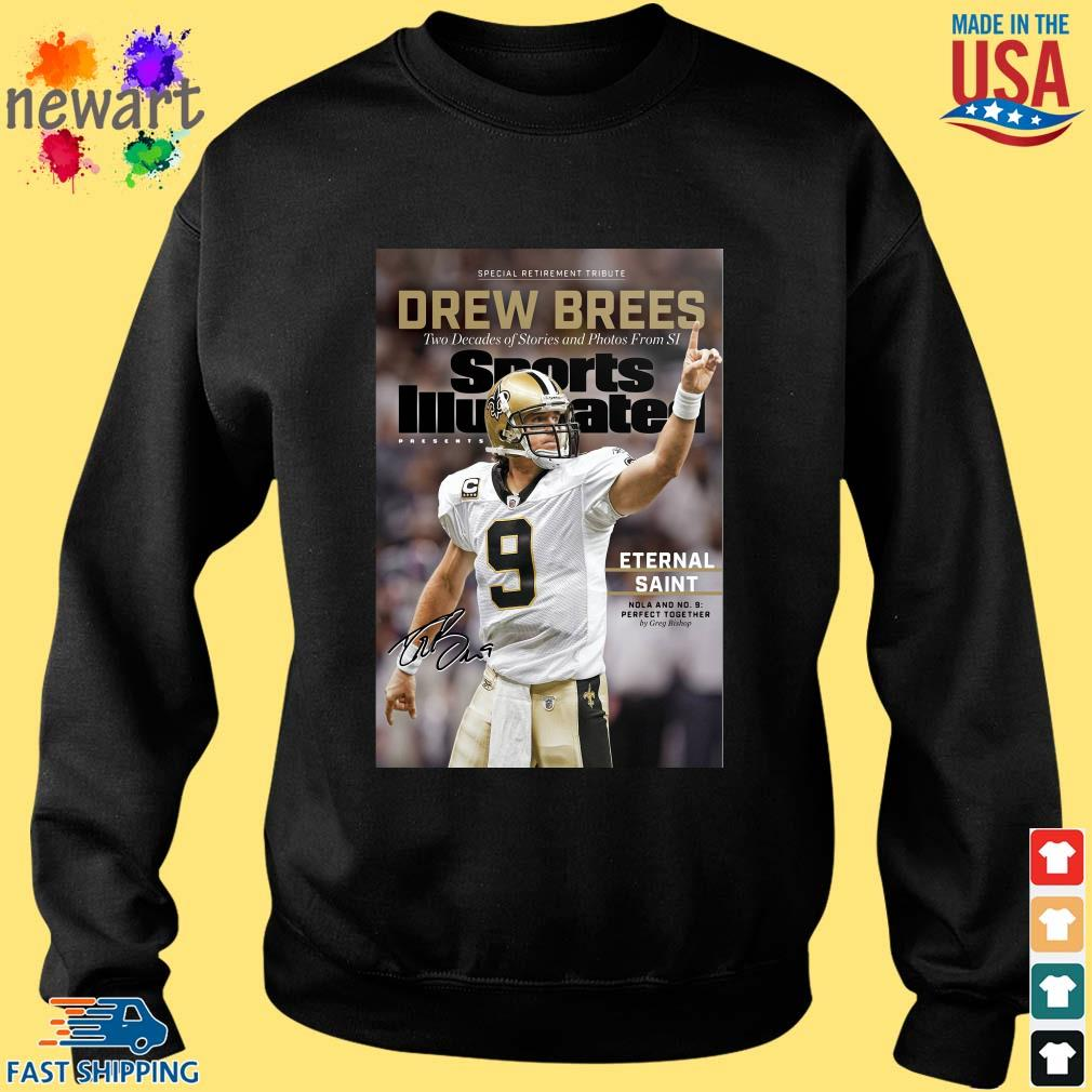 9 Drew Brees New Orleans Saints Signature Two Decades Of Stories And Photos From SI ShirtS Sweater den