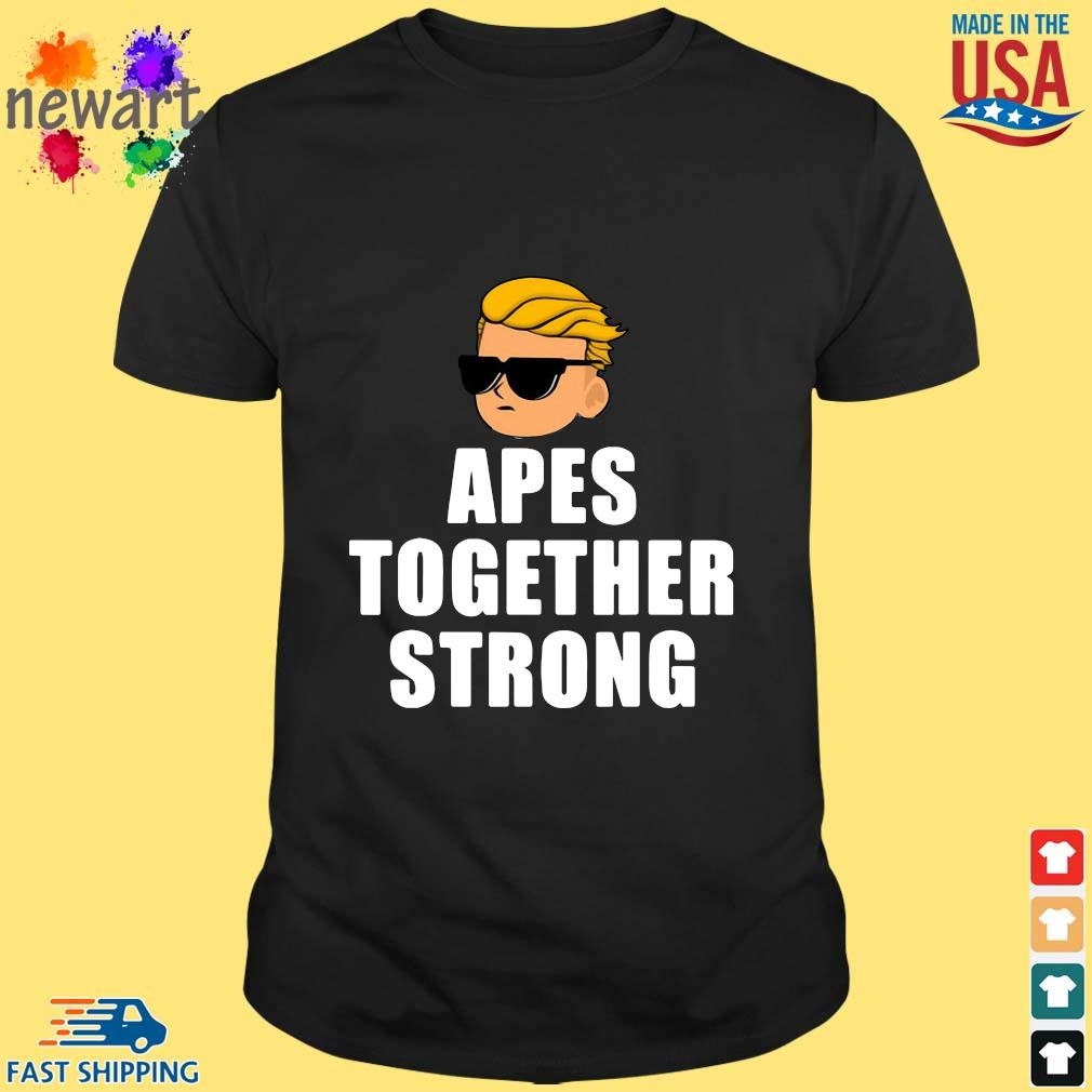Apes Together Strong Wsb Stonks Meme Shirt