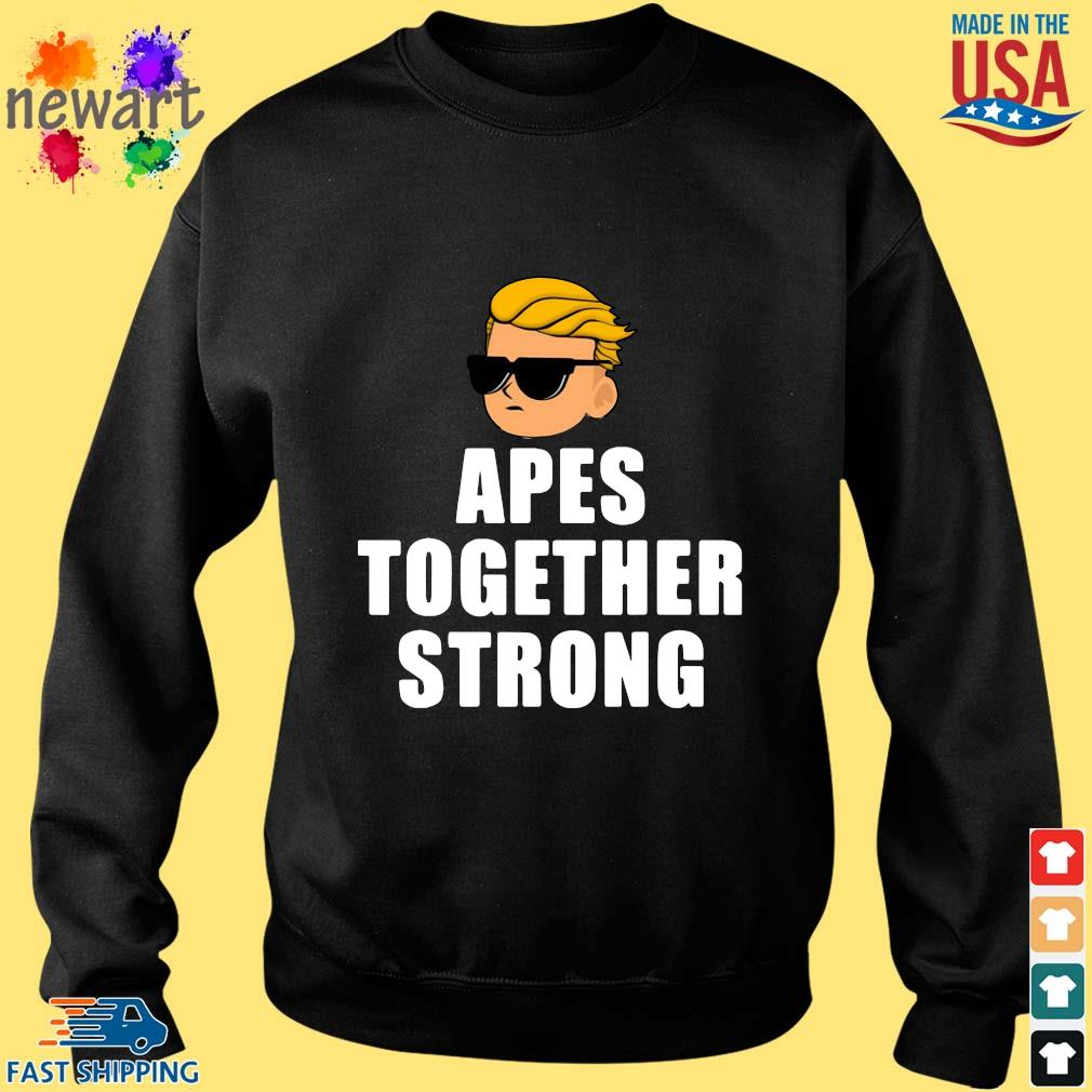 Apes Together Strong Wsb Stonks Meme Shirt Sweater den