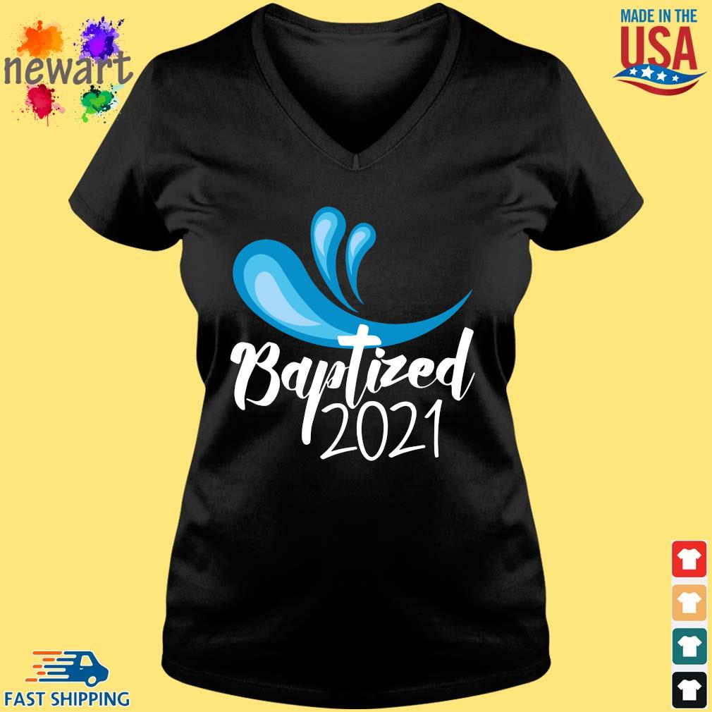 Baptized 2021 Shirt Vneck den
