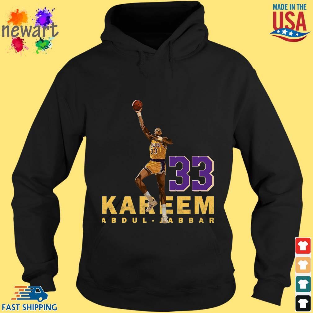 Kareem Abdul Jabbar 33 Los Angeles 1984-1985 Shirt hoodie den