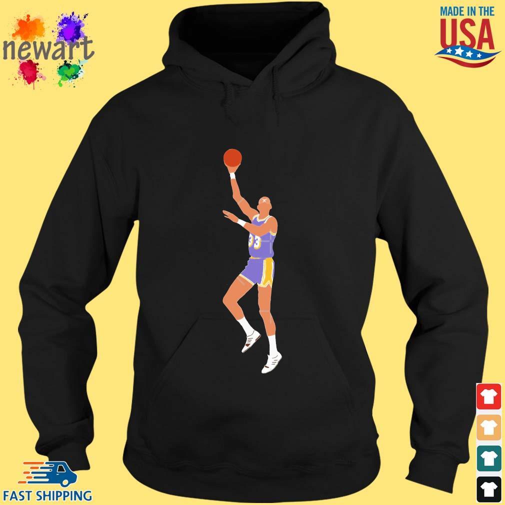 Kareem Abdul-Jabbar Skyhook Pullover Shirt hoodie den