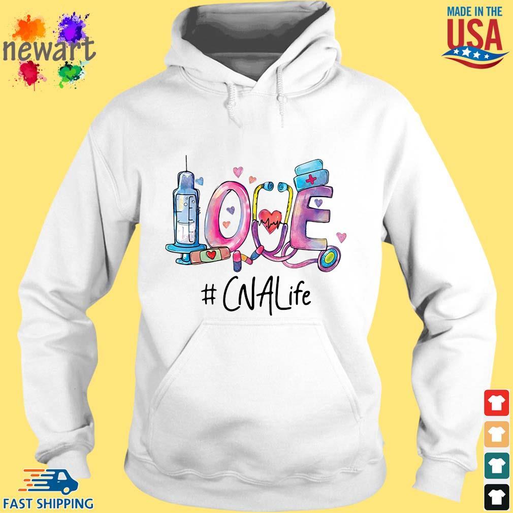 Love #CNALife Nurse Shirt hoodie trang