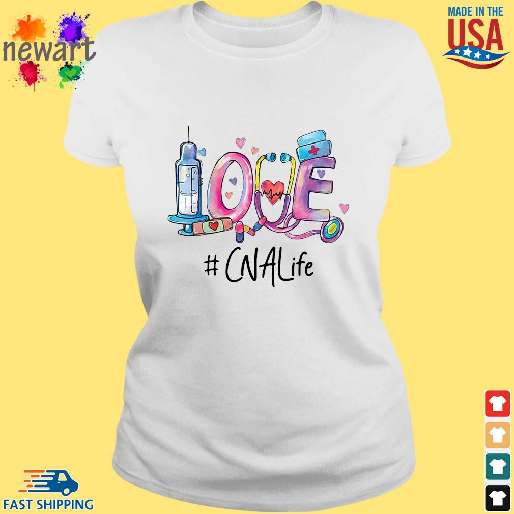 Love #CNALife Nurse Shirt ladies trang