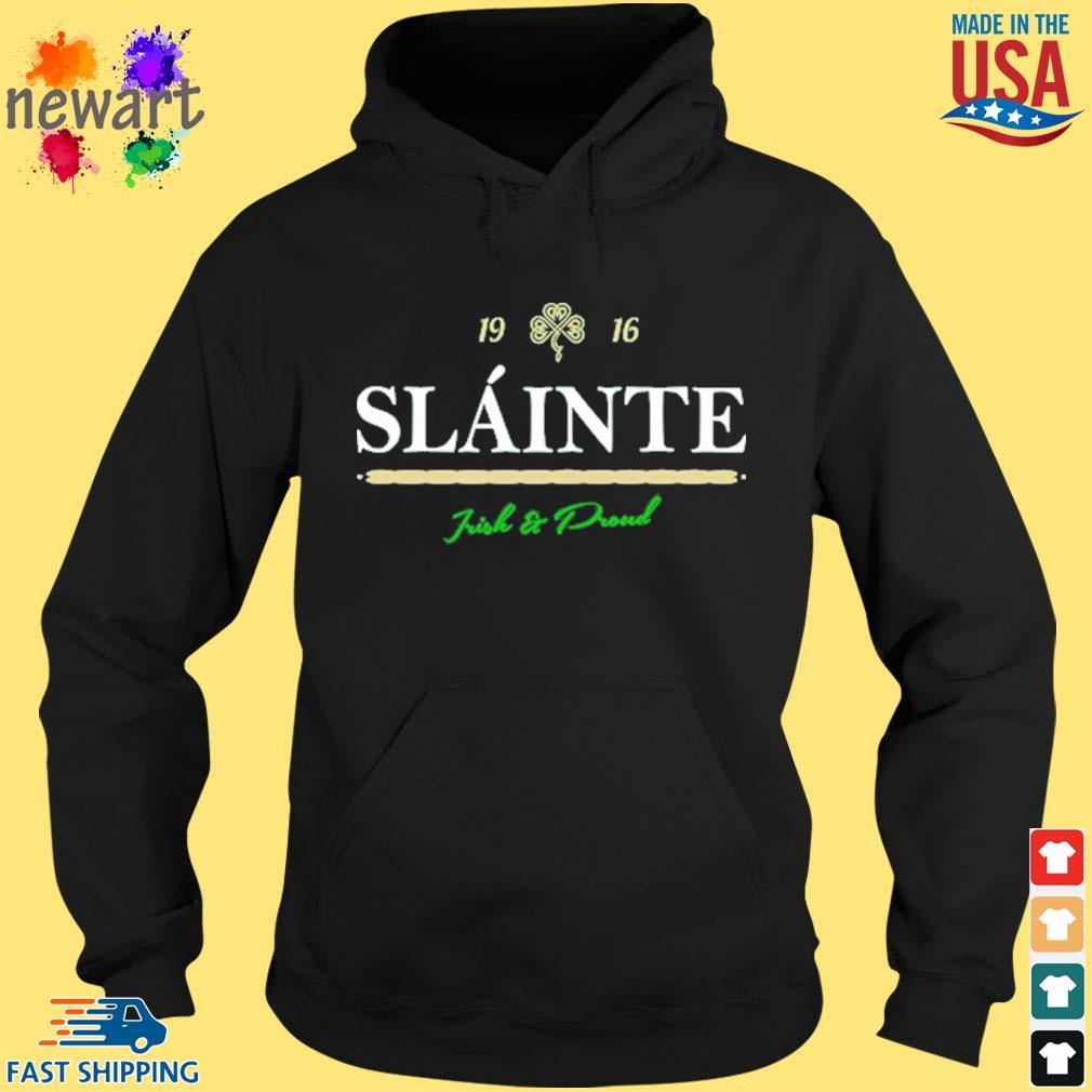 New Orleans Saints 19 16 slainte irish and proud hoodie den