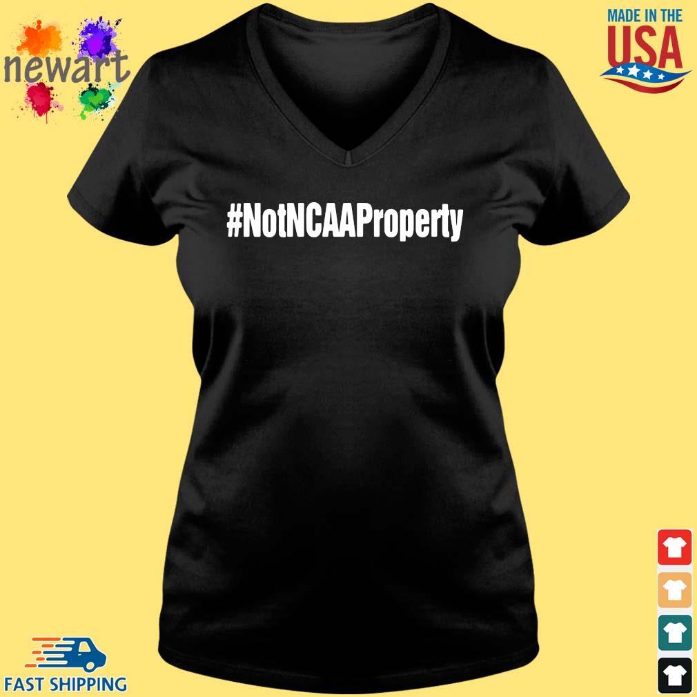 #Notncaaproperty Vneck den