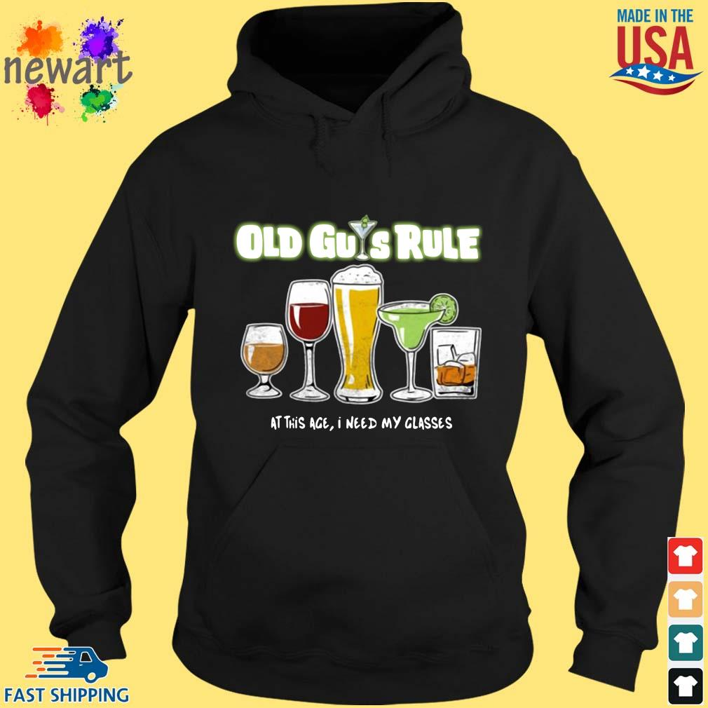 Old guys rule at this age I need my glasses hoodie den
