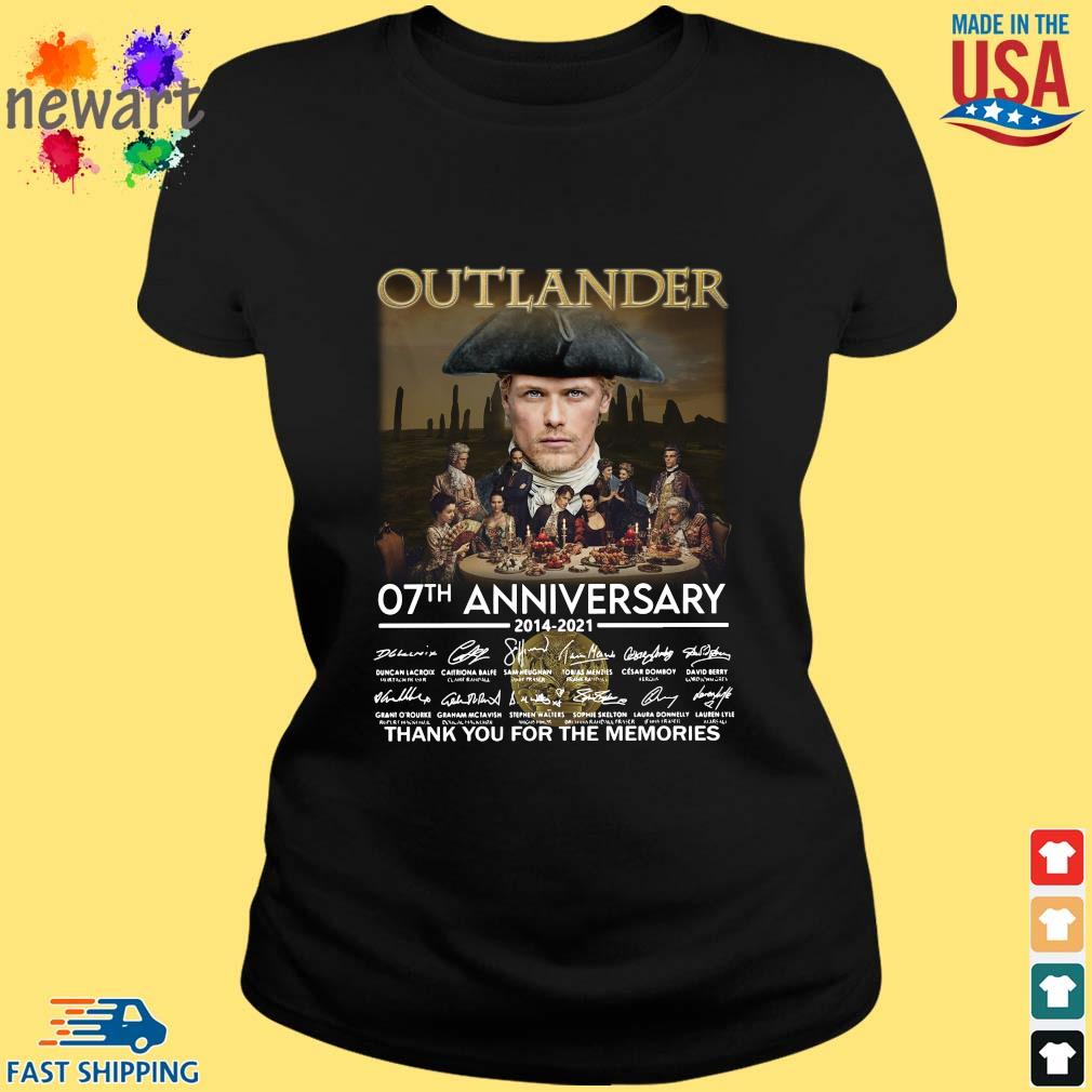 Outlander 07th anniversary 2014-2021 thank you for the memories signatures ladies den