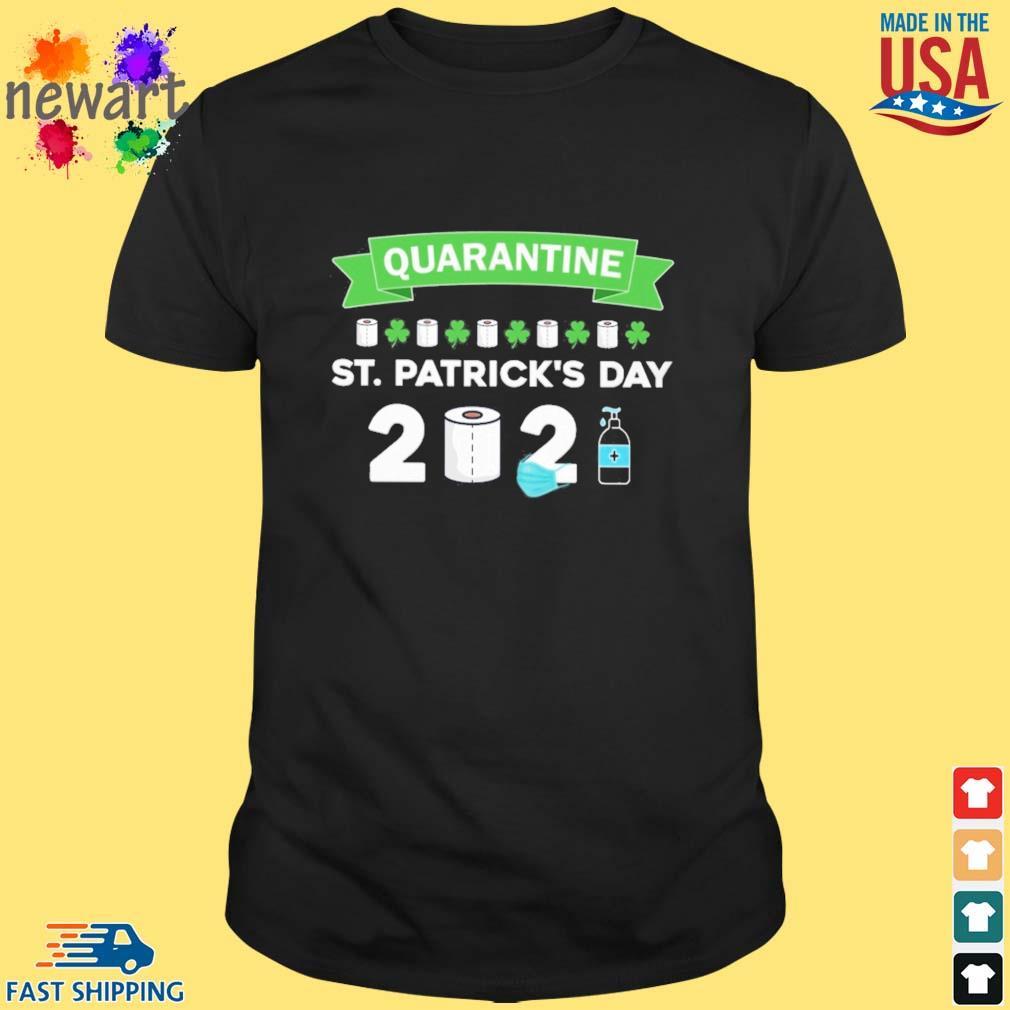 Quarantine St. Patrick's Day 2021 shirt