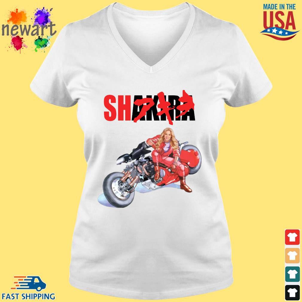 Shakira Akira vneck trang