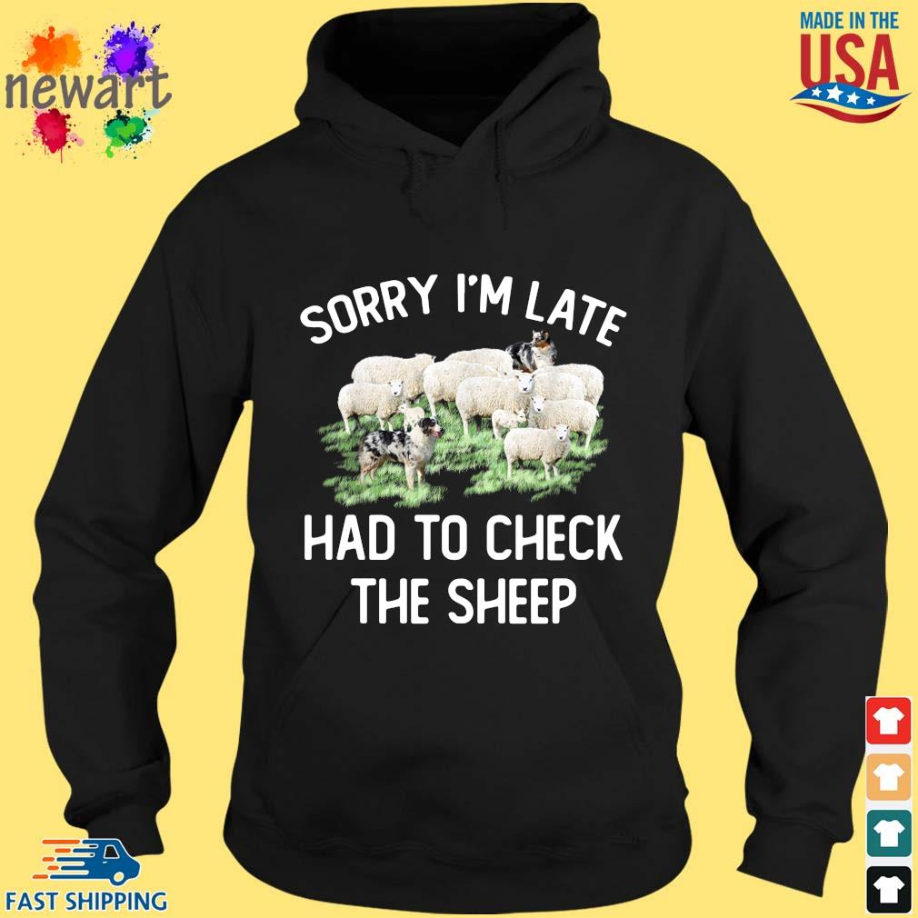 Sorry I'm late had to check the sheep hoodie den