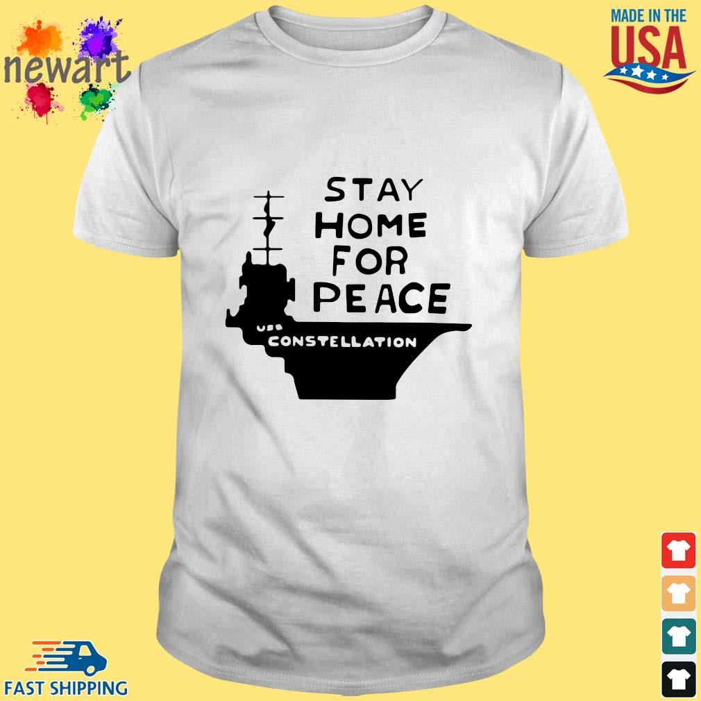 Stay home for peace joan baez shirt