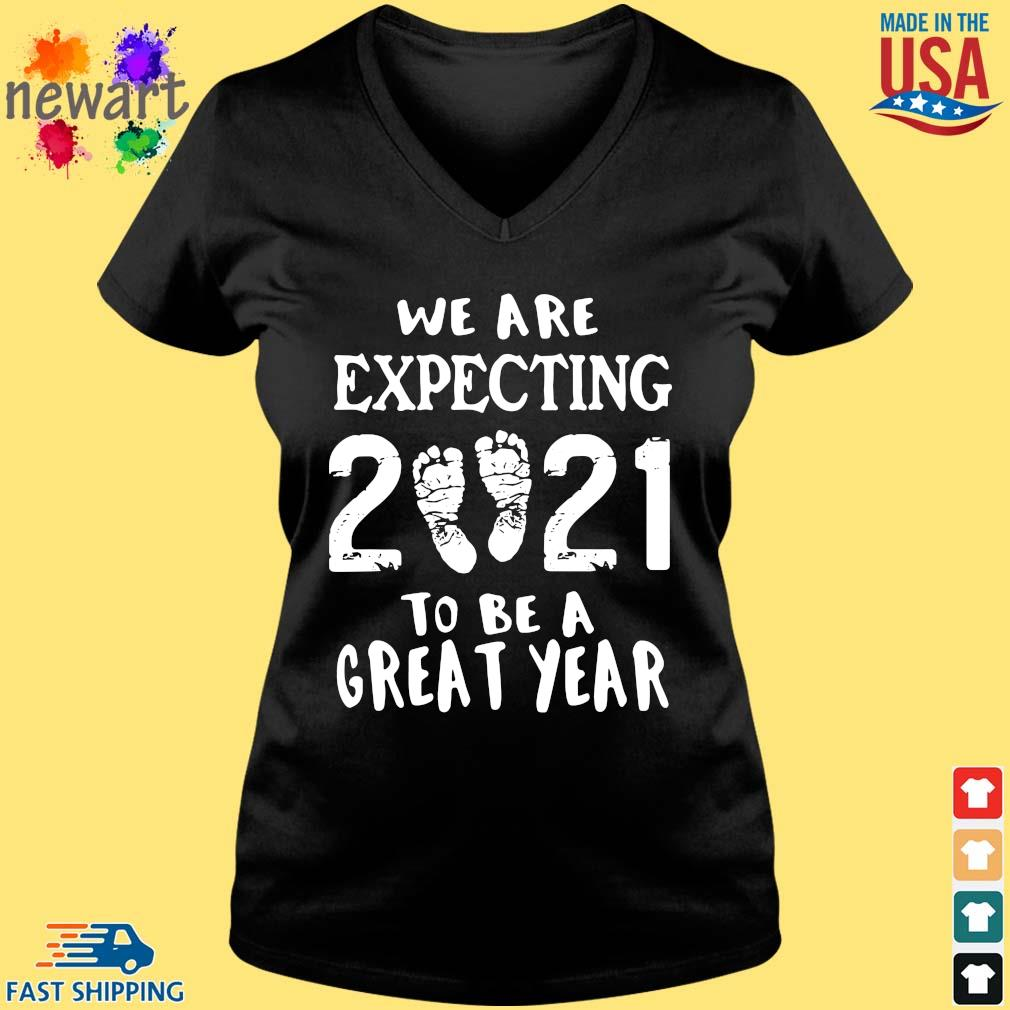 We are expecting 2021 to be a great year Vneck den