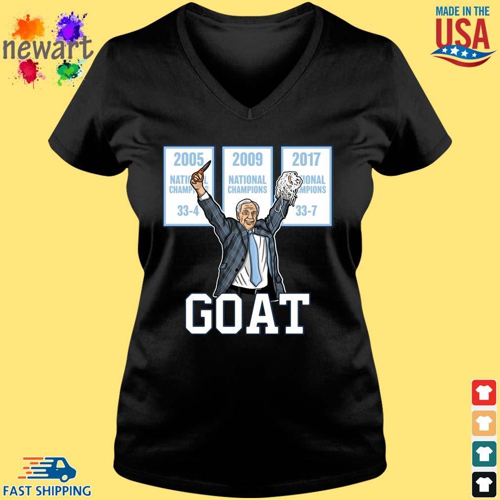 2005-2009-2017 National Championship Goat Shirt Vneck den
