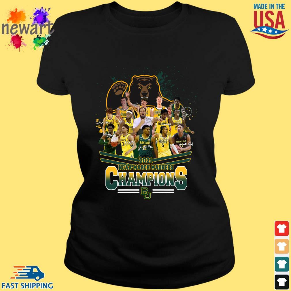 2021 NCAA March Madness Champions Baylor University Signatures ladies den