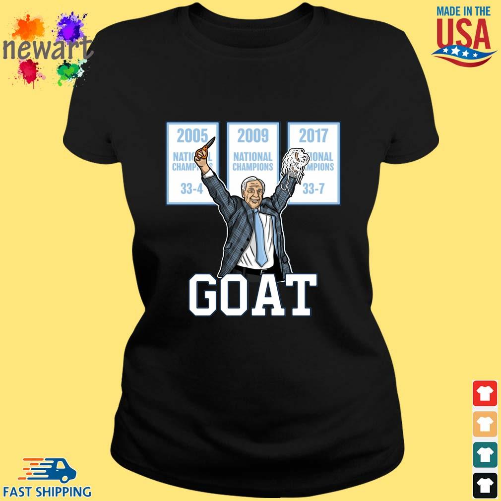 2005-2009-2017 National Championship Goat Shirt ladies den