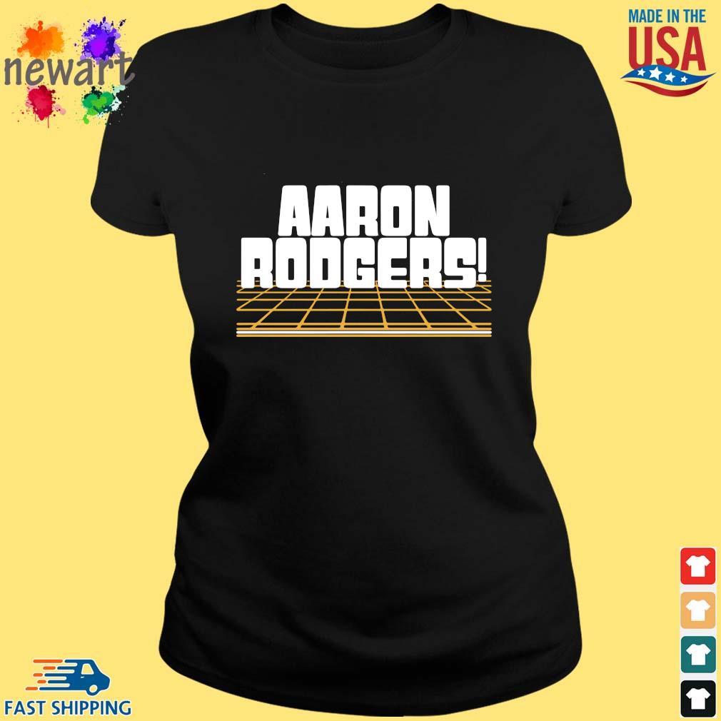 Aaron Rodgers Green Bay Packers Shirt ladies den