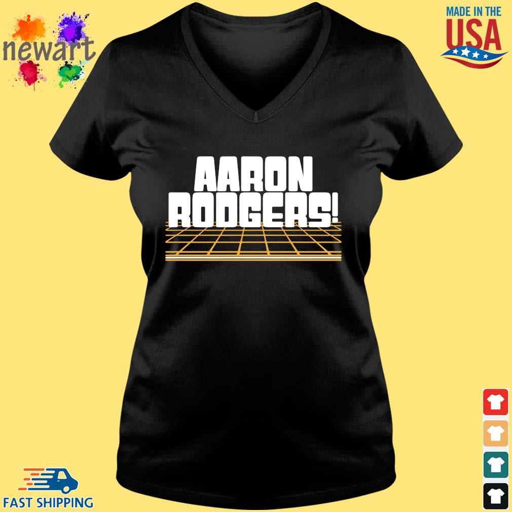 Aaron Rodgers Green Bay Packers Shirt Vneck den