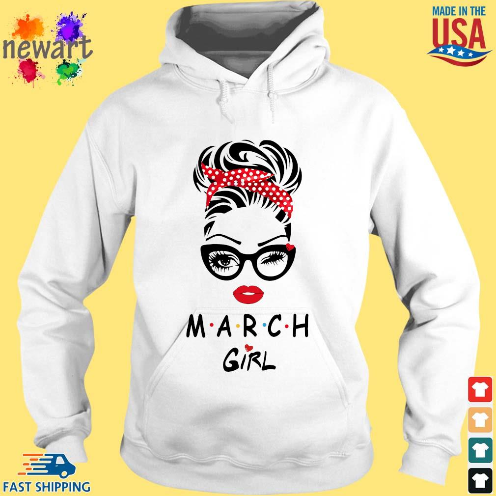 Black Woman With Glasses March Girl Shirt hoodie trang