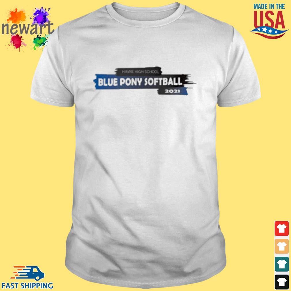 Harve High School Blue Pony Softball 2021 Shirt