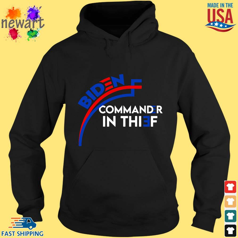 Joe Biden commander in chief hoodie den
