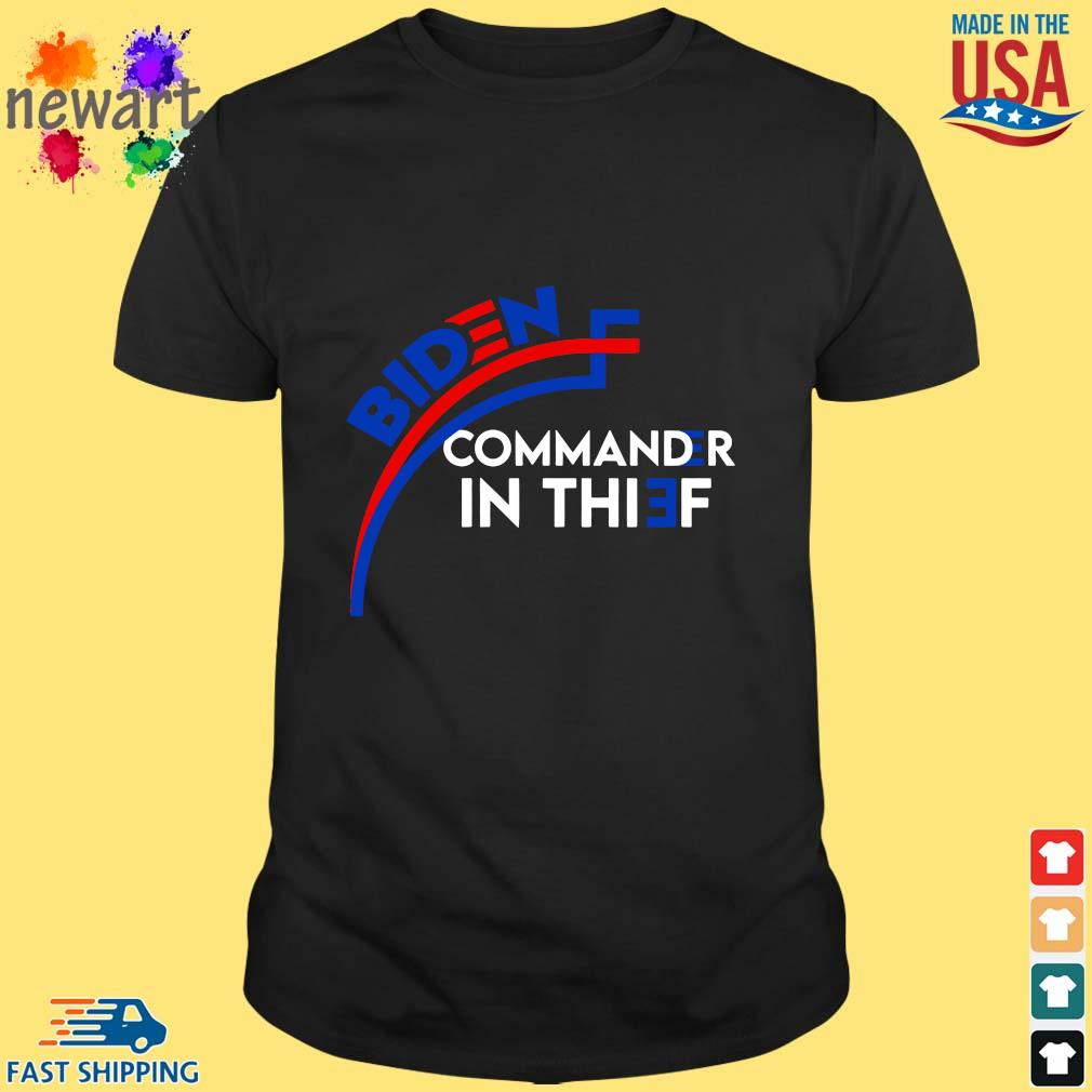 Joe Biden commander in chief shirt