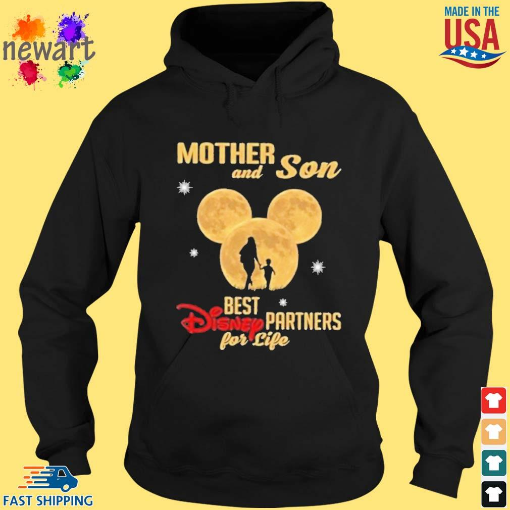 Mickey Mouse Mother And Son Best Disney Partner For Ever Shirt hoodie den