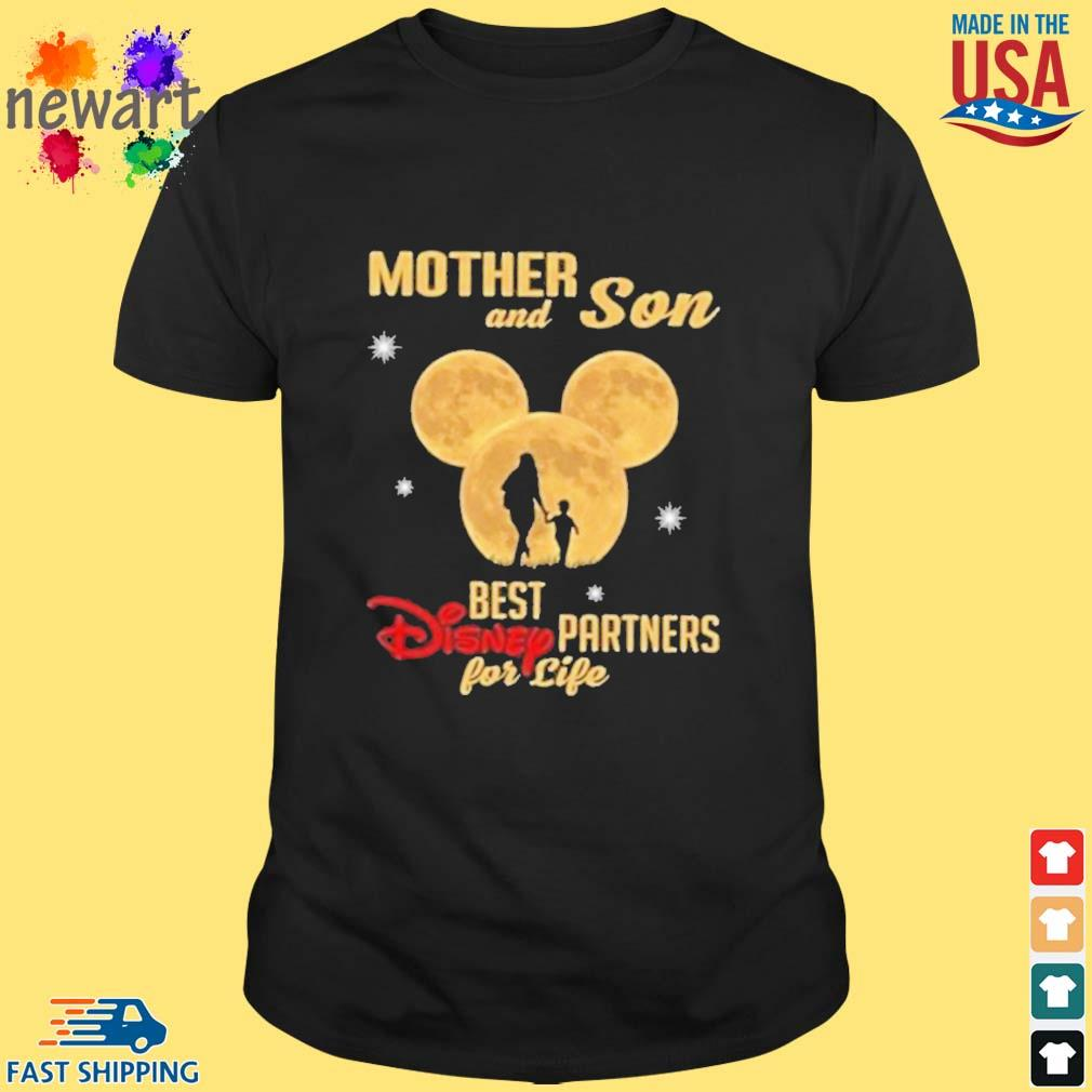 Mickey Mouse Mother And Son Best Disney Partner For Ever Shirt