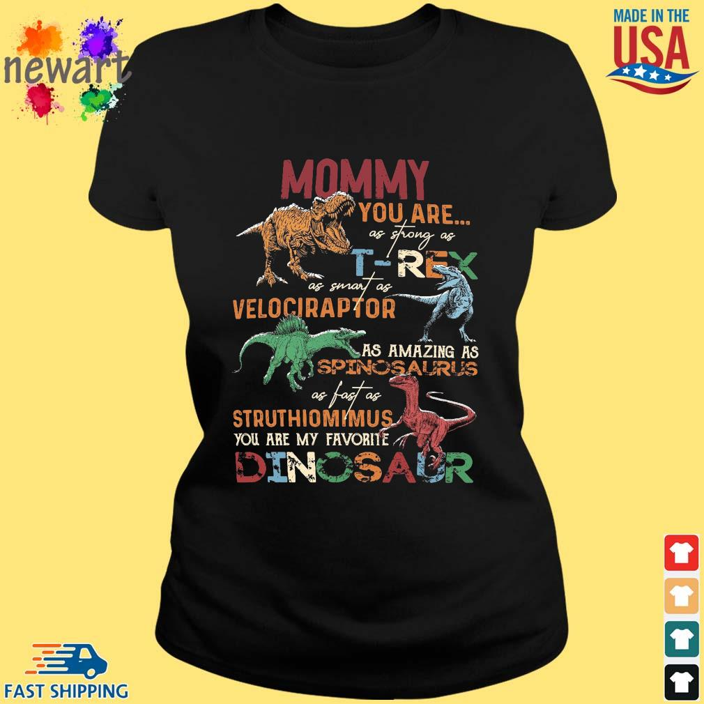 Mommy you are as strong as T-Rex as smart as velociraptor ladies den