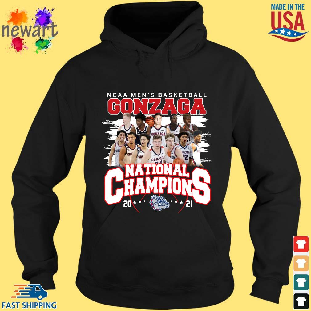 Ncaa men's basketball Gonzaga Bulldogs national champions 2021 hoodie den