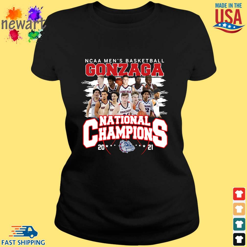 Ncaa men's basketball Gonzaga Bulldogs national champions 2021 ladies den