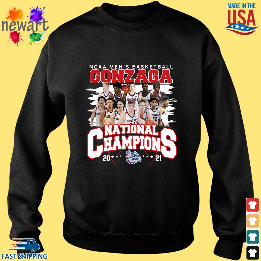 Ncaa men's basketball Gonzaga Bulldogs national champions 2021 Sweater den