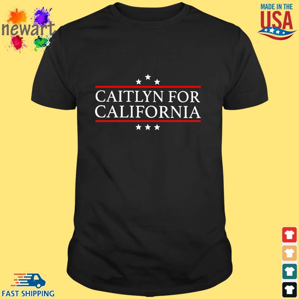 Official caitlyn for California shirt