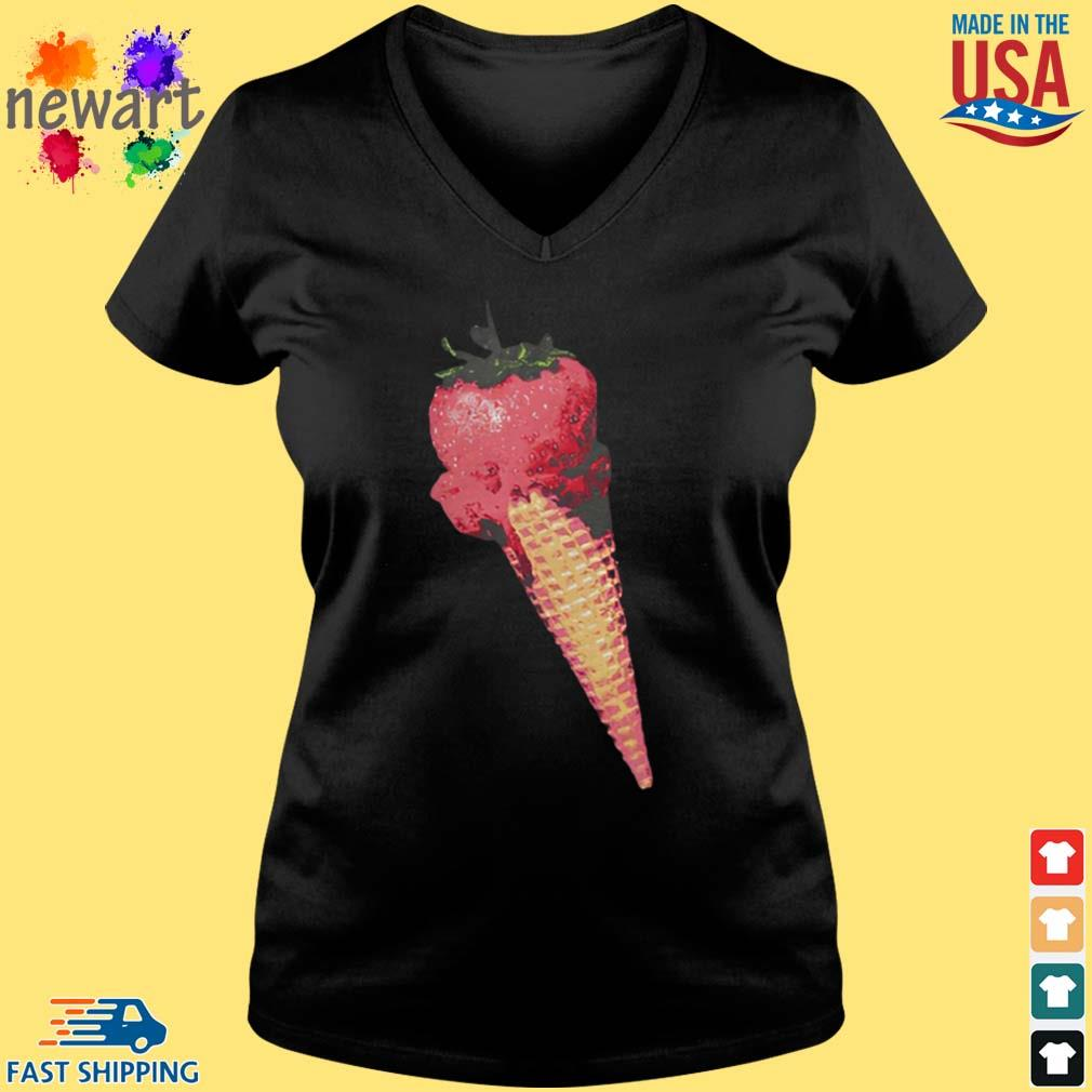 Olivia Rodrigo Merch Ice Cream Shirt Vneck den