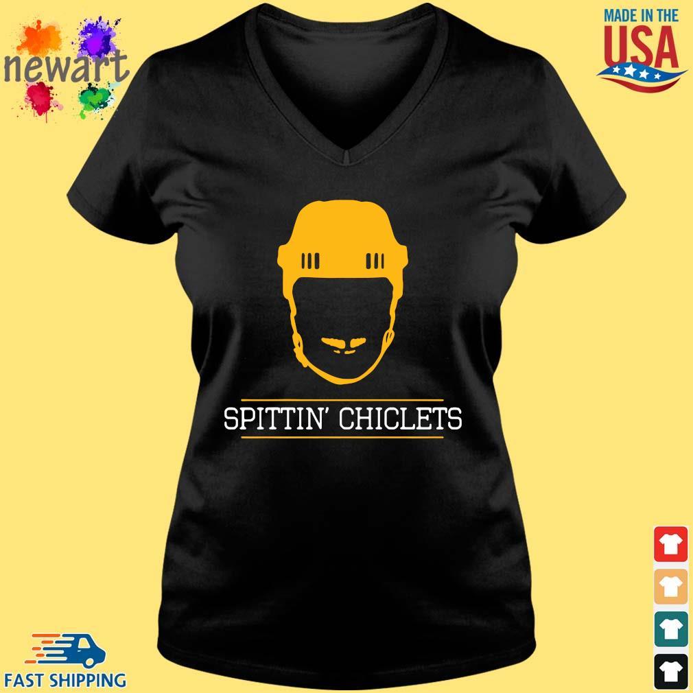 Spittin Chiclets Podcast Shirt Vneck den