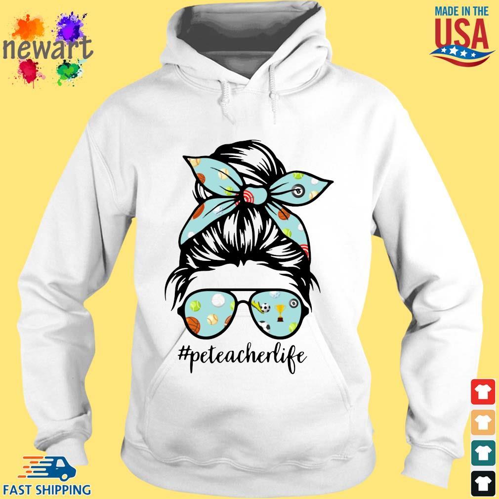 Sports Girl Pe Teacher Life Shirt hoodie trang