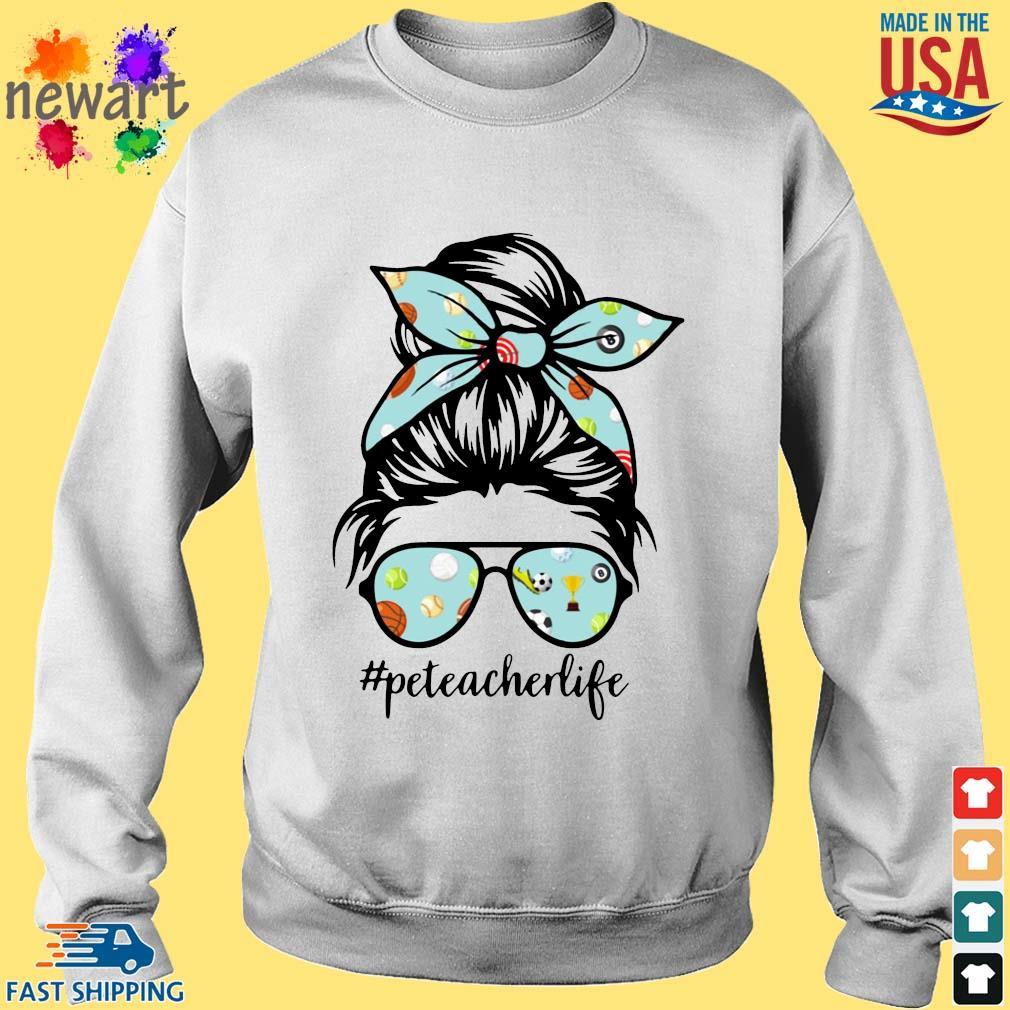 Sports Girl Pe Teacher Life Shirt Sweater trang