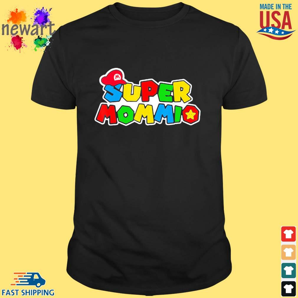 Super Mommio Mommy Mother Nerdy Video Gaming Lover Shirt