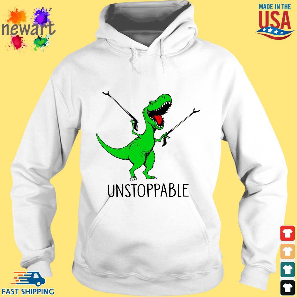 T-Rex unstoppable hoodie trang